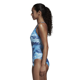 adidas Fit One Piece AOPPAR Swimsuit Women blue